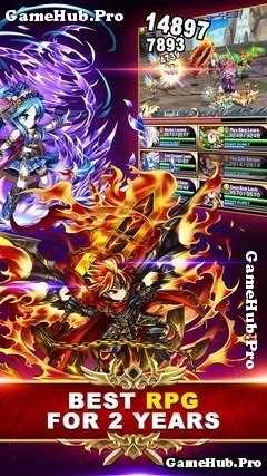 Tải game Brave Frontier RPG - Đánh theo Lượt cho Android