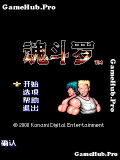 Tải game Contra - Bắn súng cổ điển bởi Konami cho Java