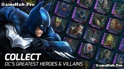 Tải game DC Legends - Nhập vai siêu anh hùng Mod Android