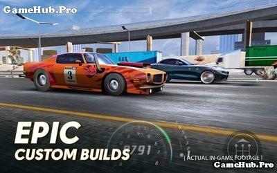 Tải game Nitro Nation Online - Đua xe Mod bảo trì Android