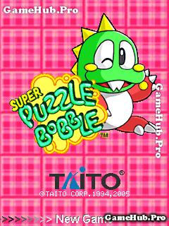 Tải game Puzzle Bobble - Khủng long bắn bóng cho Java