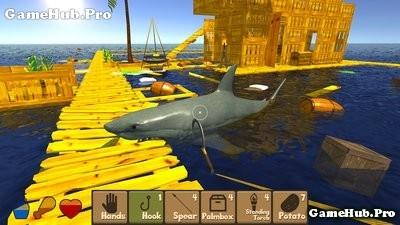 Tải game Raft Survival Simulator - Mắc kẹt ở Đại Dương