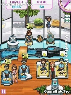 Tải game Sally's Studio - Tiệm xông hơi, sức khỏe Java
