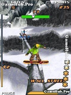 Tải game Snowboard Hero - Trượt tuyết 3D cực đẹp cho Java