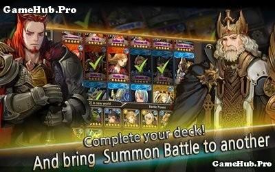 Tải game Summon Rush - Nhập vai thẻ bài cho Android