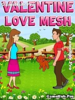 Tải game Valentine Love Mesh - Tình yêu vui nhộn cho Java