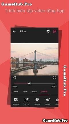 Tải VideoShow Pro - Ứng dụng chỉnh sửa Video Android tốt