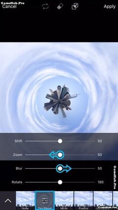 Hướng dẫn cách tạo ảnh hành tinh Tí Hon bằng PicsArt