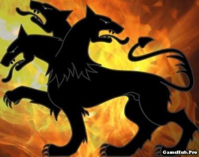 Khám phá truyền thuyết chó ba đầu canh cổng địa ngục