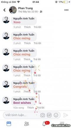 Những hiệu ứng bình luận trên Facebook cực HOT và Sành điệu