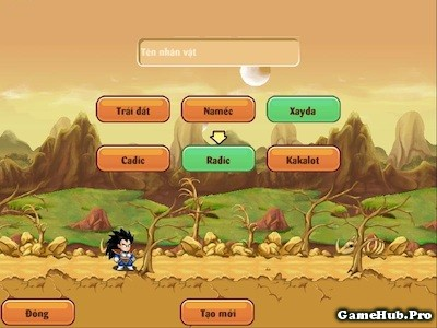 Tải Hack Ngọc Rồng Online 075 Auto Click Java Android