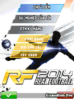 Tải Game Real Football 2014 Mod Sửa Tên Cầu Thủ