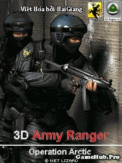 Tải Game 3D Army Ranger Operation Arctic Bắn Súng Java