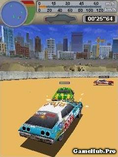 Tải game Crash Arena 3D đua xe chiến đấu Bluetooth Java