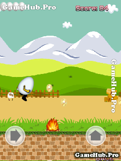 Tải game Crazy Run - Gà, Trứng Gà chạy vô tận cho Java