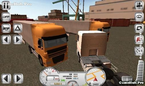 Tải Game Euro Truck Driver Hack Full Tiền Cho Android