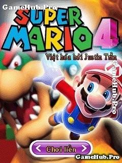 Tải Game Super Mario 4 Việt Hóa Crack Cho Java miễn phí