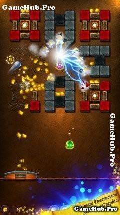 Tải game Ancient Bricks - Phá chùa lấy kho báu Mod Android