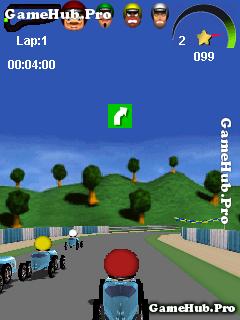 Tải game Road Racer 3D - Đua xe 3D ngộ nghĩnh cho Java