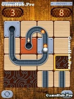 Tải game Roll - Cuộn đường và viên bi hại não cho Java
