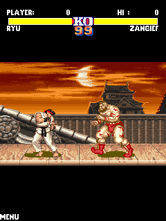 Tải game Street Fighter 2 - The World Warrior cho Java