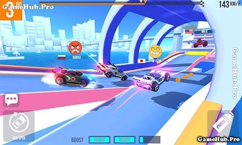 Tải game SUP Multiplayer Racing - Đua xe Mod tiền Android
