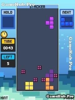Tải game Tetris POP - Xếp gạch kiểu mới cho Java miễn phí