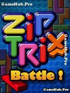 Tải game Ziptrix Battle - Xếp hình khối Bluetooth Java