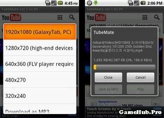 Tải Tubemate Miễn Phí Cho Android Apk 2015 mới nhất
