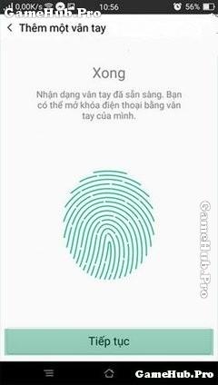 Thủ thuật bật – tắt bảo mật vân tay cho điện thoại Oppo
