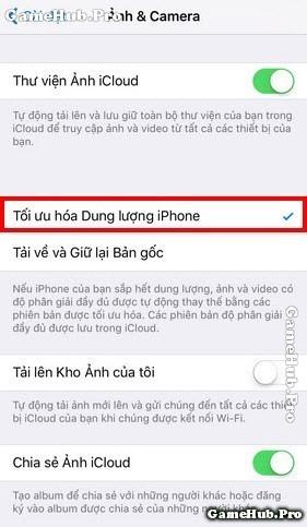Hướng dẫn thủ thuật khắc phục iPhone đầy bộ nhớ
