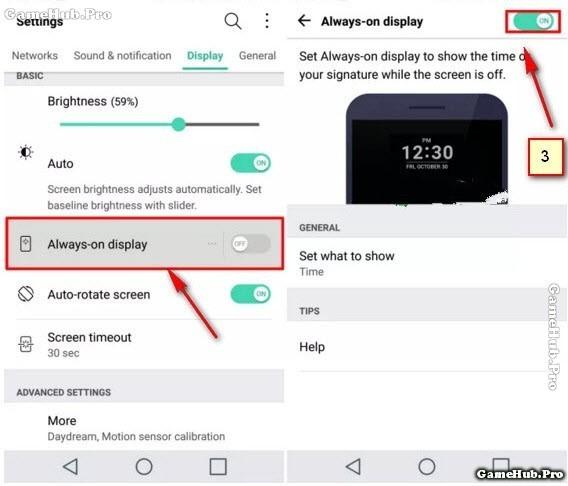 Mẹo kích hoạt Always-on display trên điện thoại LG G5