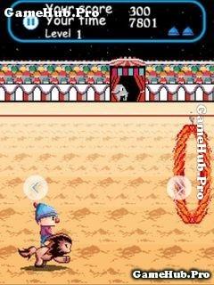 Tải Game Circus Charlie - Trình Diễn Xiếc Thú Cho Java