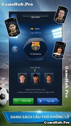 Tải Game FIFA Online 3 Mobile Cho Android IOS mới nhất