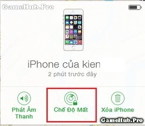 Hướng dẫn tìm lại iPhone bị mất bằng Find My iPhone