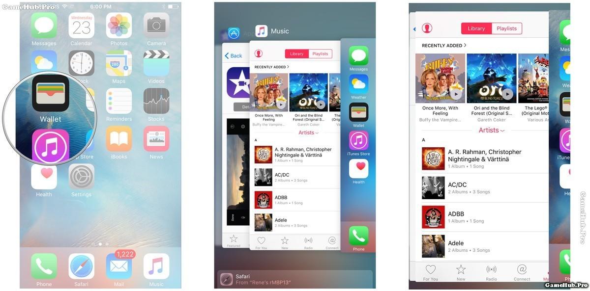 Tìm hiểu tính năng 3D Touch trên iPhone 6s và 6s Plus
