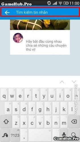 Hướng dẫn xem tin nhắn cũ trên Zalo dòng máy Android