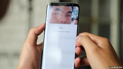 Cách cài đặt mở khóa bằng mống mắt trên Galaxy S8