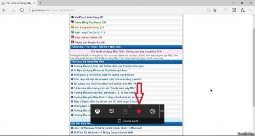 Cách Quay màn hình Windows 10 không cần phần mềm nhanh