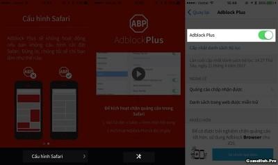 Cách chặn quảng cáo khi lướt web bằng Safari trên iPhone