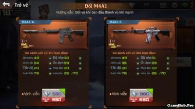 Crossfire Legends: Hướng dẫn cách nâng cấp lên đời súng