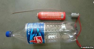 Hướng dẫn chế tạo máy hút bụi mini cầm tay đơn giản nhất