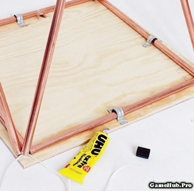Hướng dẫn làm bàn để đầu giường đơn giản mà hiện đại