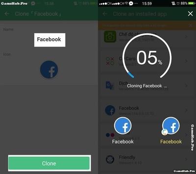 Tải Clone Master - Dùng nhiều tài khoản trên Android