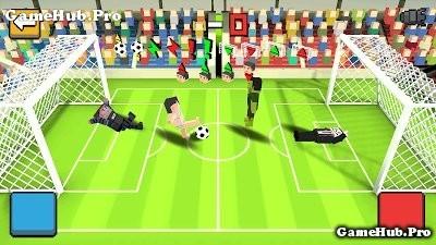 Tải game Cubic Soccer 3D - Đá bóng Mod tiền Android
