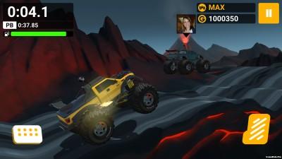 Tải game MMX Hill Dash - Đua xe địa hình Mod tiền Android
