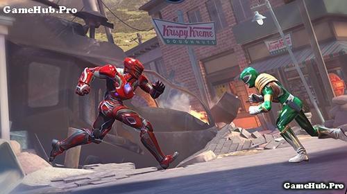 Tải game Power Rangers - Legacy Wars Đối Kháng Android
