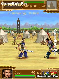 Tải game Three Hegemony 3D - Võ tướng đối kháng cho Java