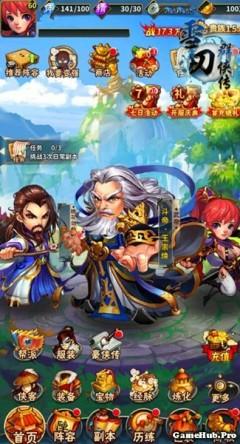 Tải game Tuyết Đao - Thẻ bài chiến thuật cho Android