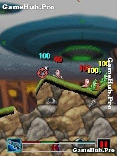 Tải game Worms 2008 - Sâu bắn súng theo Lượt cho Java